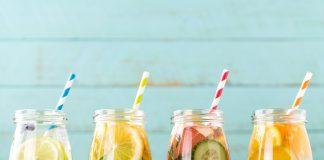 Receitas de água saborizada para o verão