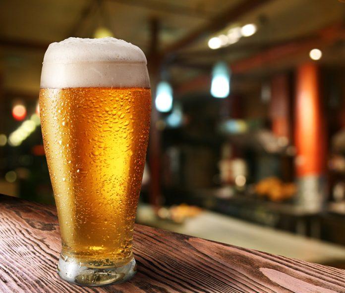 cerveja e corrida