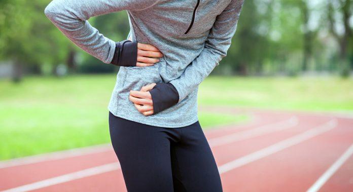 dor na lateral do abdômen
