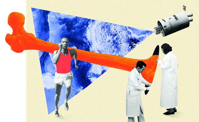 ossos saudáveis e corridas mais rápidas