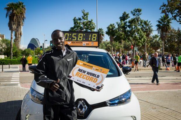 recorde mundial da meia maratona