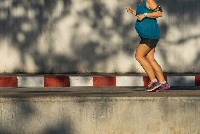 é seguro correr grávida