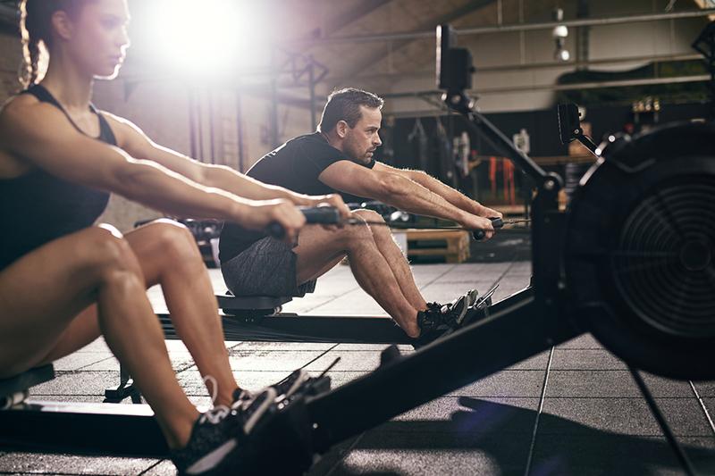 exercícios aeróbicos de baixo impacto remo 1