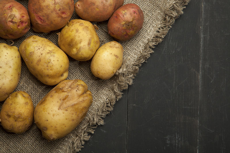 Leites vegetais batata