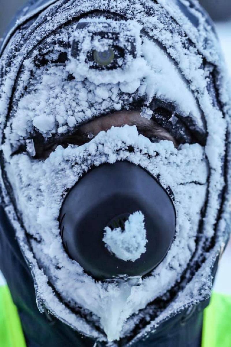 216 km com temperatura abaixo de -34 ºC 2