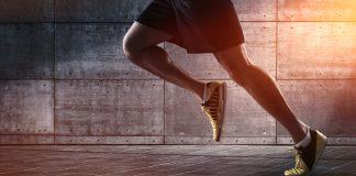 Correr na ponta dos pés