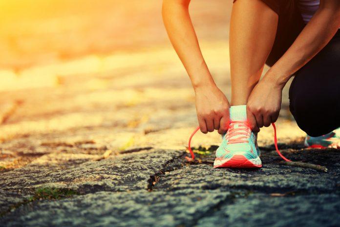 correr no início da manhã