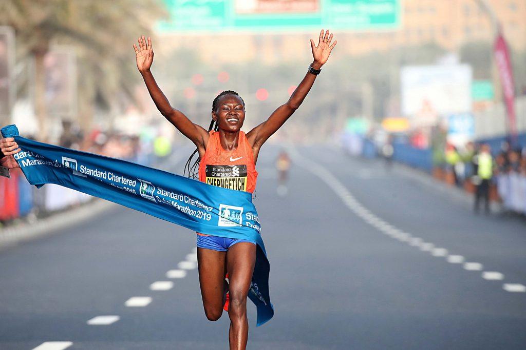 recorde da Maratona de Dubai 1
