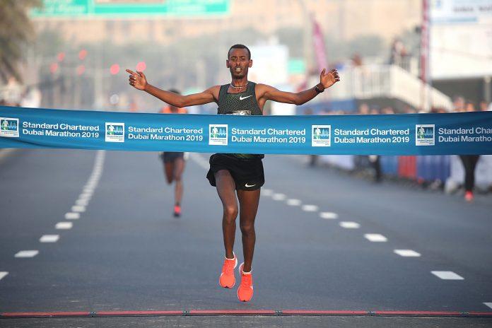 recorde da Maratona de Dubai 2