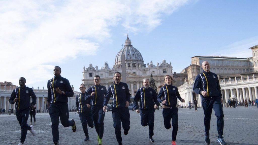 vaticano cria equipe de atletismo 2