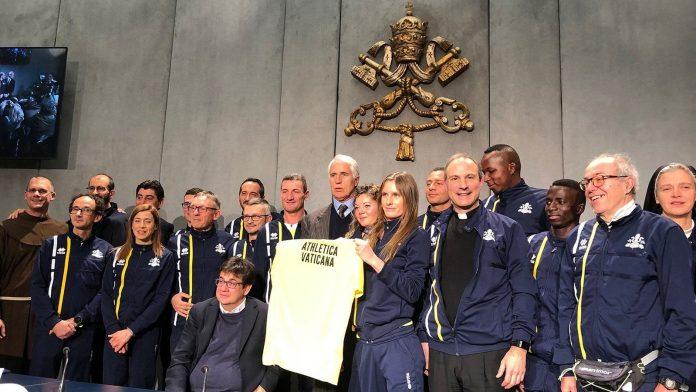 vaticano cria equipe de atletismop