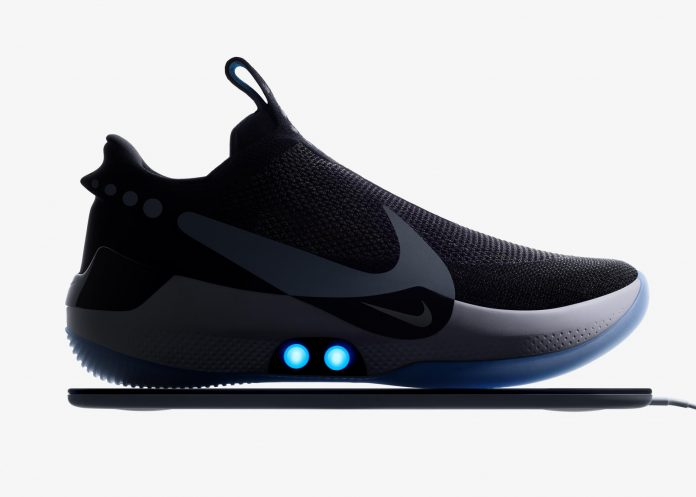 Aplicativo Nike Adapt falha