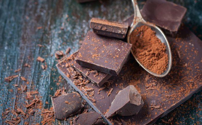 benefícios do chocolate na corrida