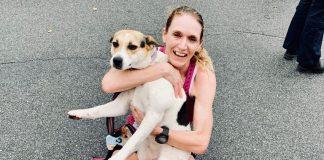 Cachorra adota corredora de elite 1