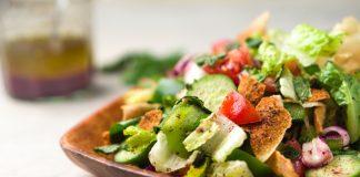 comer salada não emagrece