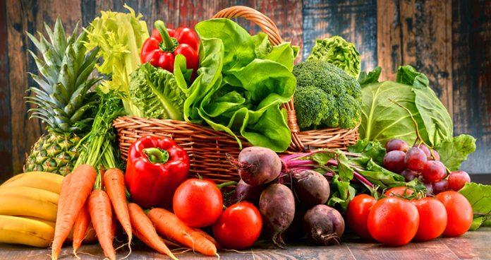Vegetais na alimentação