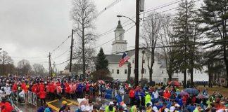 clima na maratona de boston