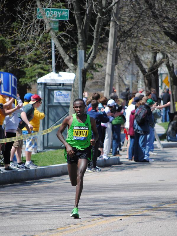 História da Maratona de Boston 2