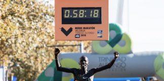 Kiptum na elite da maratona de londres de 2019