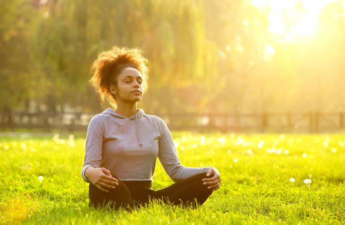 meditação e corrida
