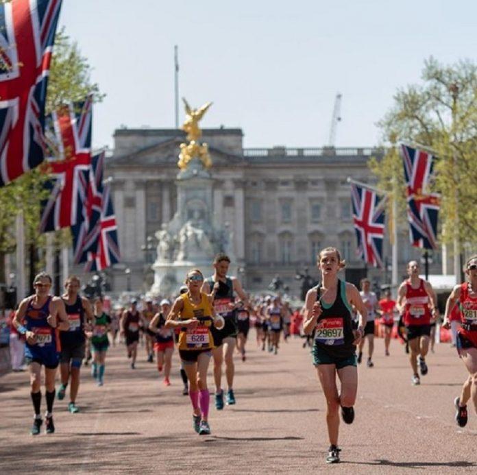proibido na maratona de londres