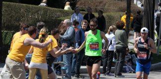 trajeto Maratona de Boston
