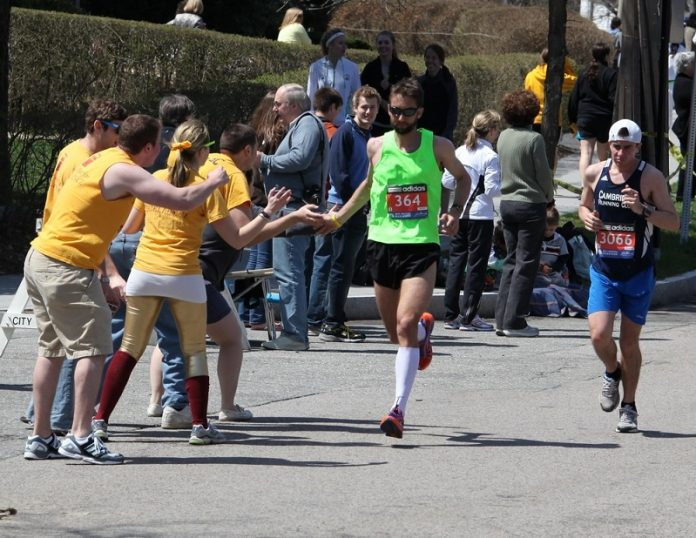 trajeto Maratona de Boston