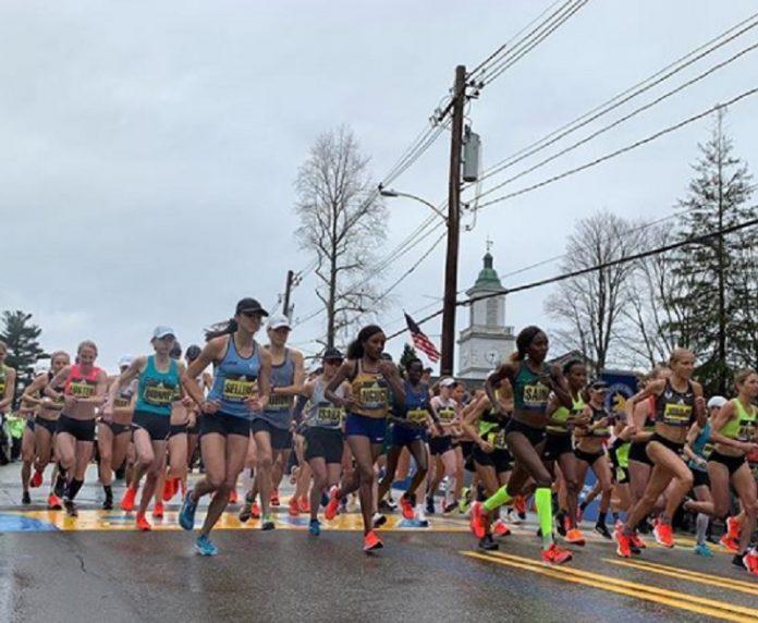 vencedores da maratona de boston 2019