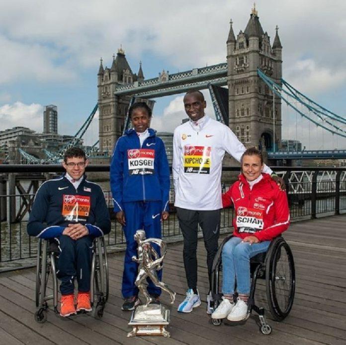vencedores da maratona de londres 2019