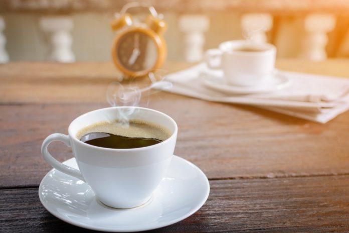 café antes da corrida