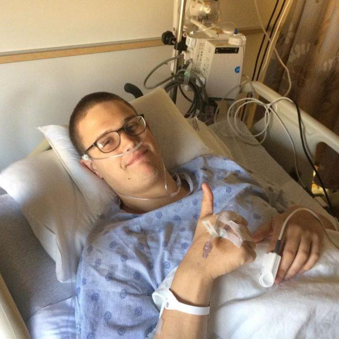 Jovem volta a correr após superar câncer em estágio 4