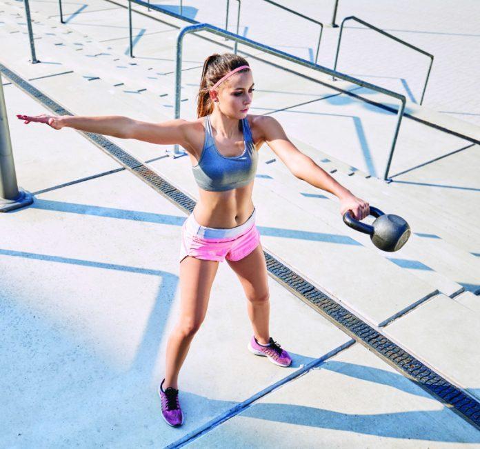 treino de kettlebell para corredores