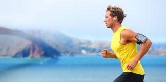Dicas para correr mais rápido: a imagem mostra um homem correndo