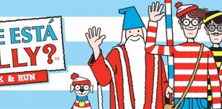Corrida onde está Wally?