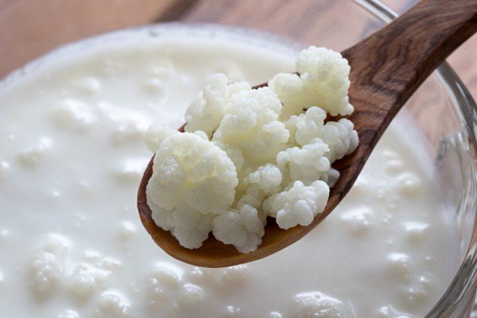 Alimentos para inchaço: kefir