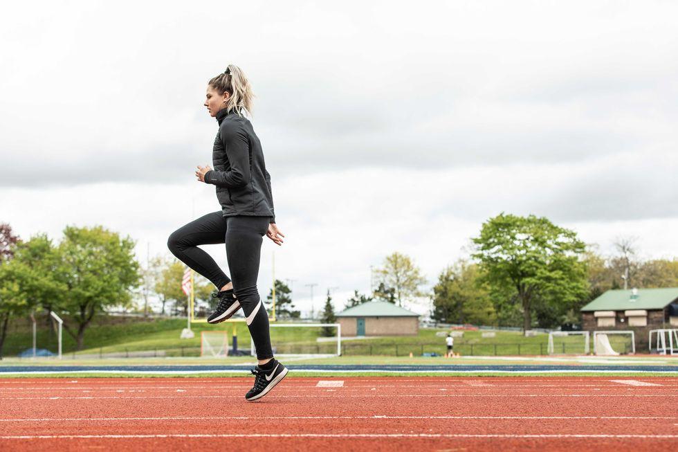 Corredora com diabetes que ser primeira a fazer parte da equipe olímpica
