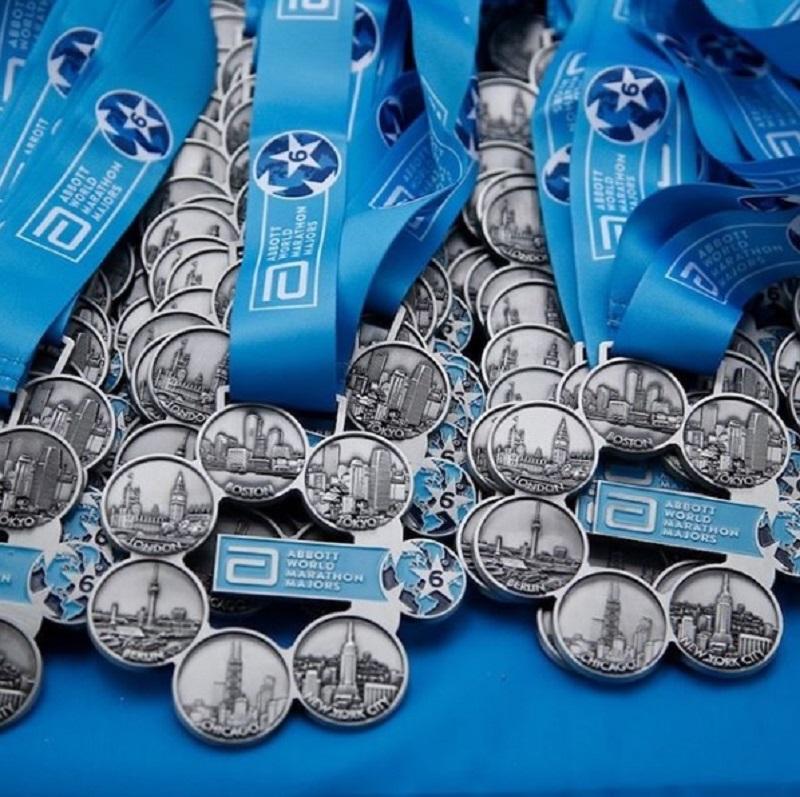 medalhes com seis símbolos representando todas as majors