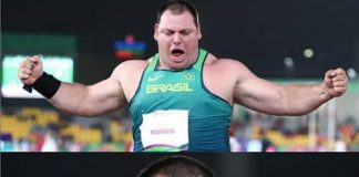 Darlan Romani atletismo pan americano