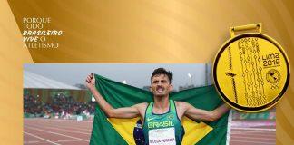 Ederson Vilela Pereira é ouro nos 10 mil metros em Lima