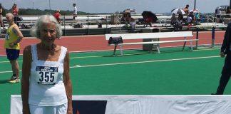 Mulher de 91 anos quebra recorde mundial
