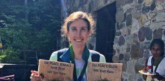 mulher vence ultramaratona
