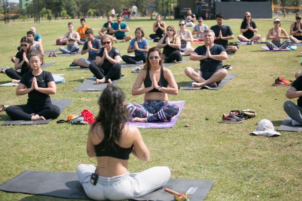 ioga no Villa Lobos