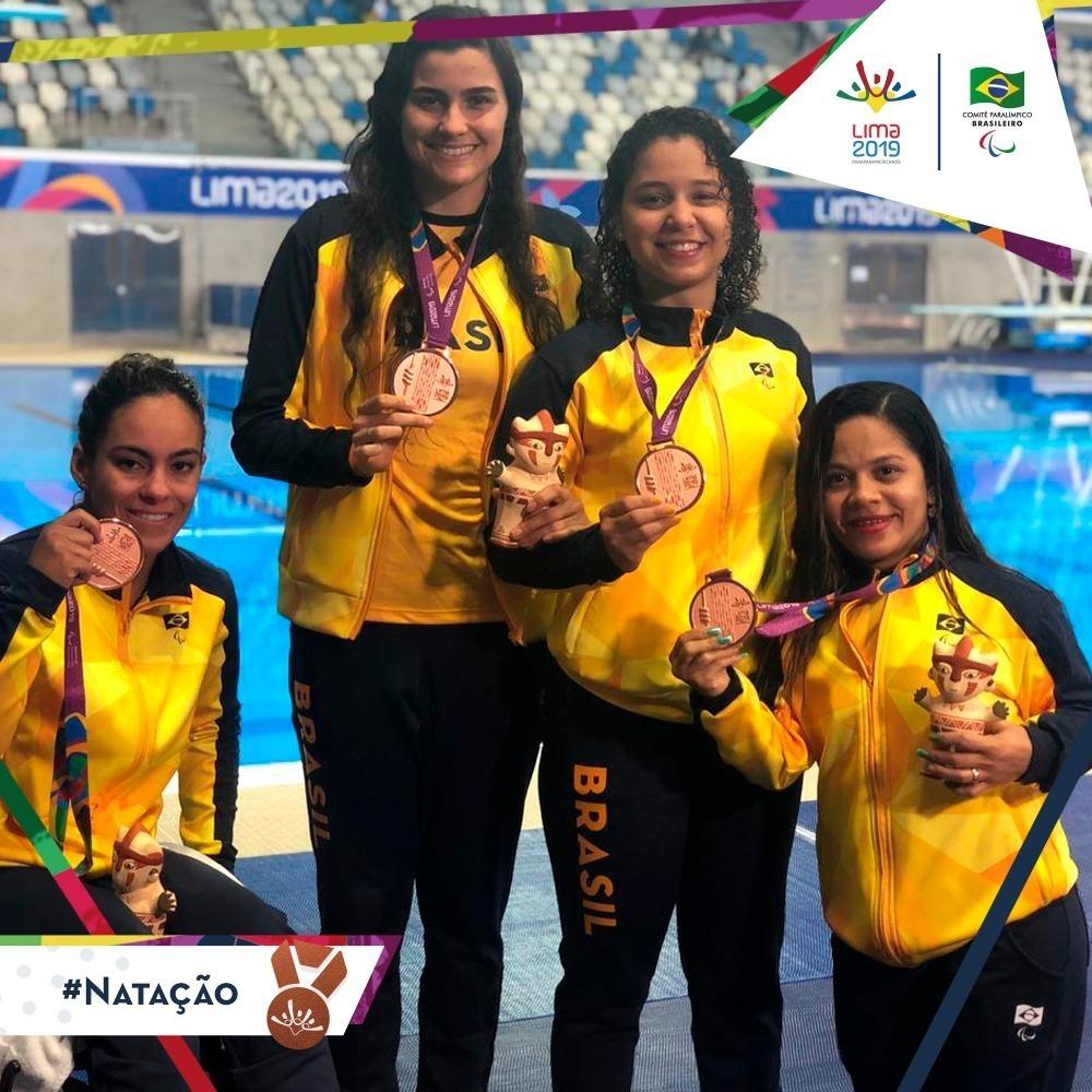 Brasil tem desempenho histórico nos Jogos Parapan-Americanos de Lima 2019
