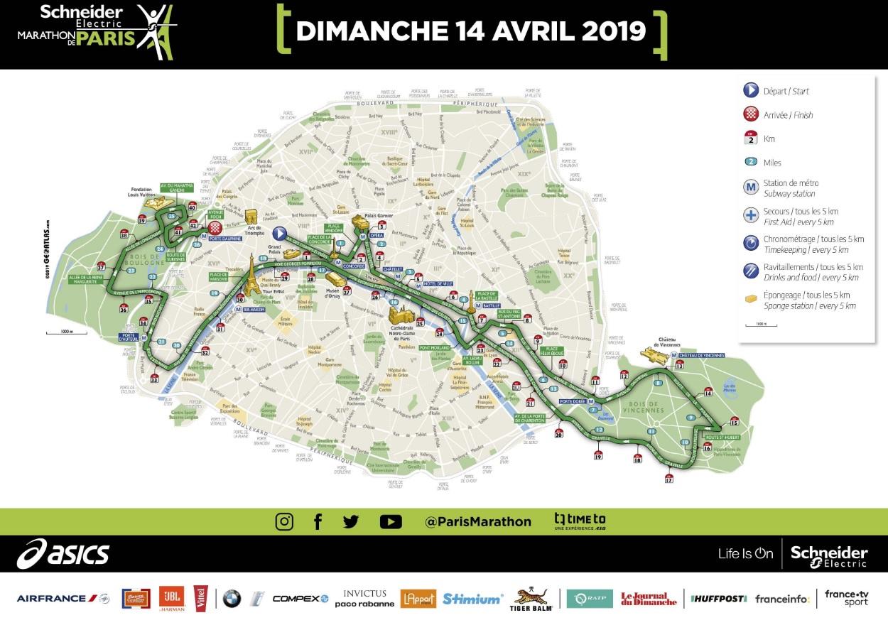 Maratona de Paris 2020