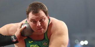 Darlan Romani vai para a final no arremesso de peso em Doha. Atleta fez a segunda melhor marca de todas as baterias