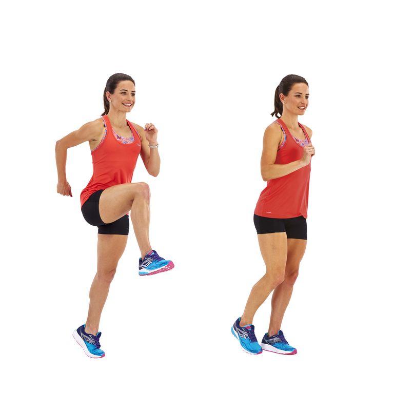 Exercícios de estabilidade pós-corrida