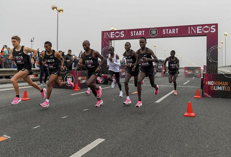 Kipchoge faz maratona em menos de 2 horas 2