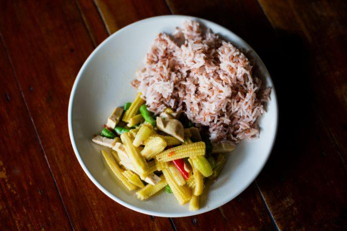 Receita de salada tailandesa