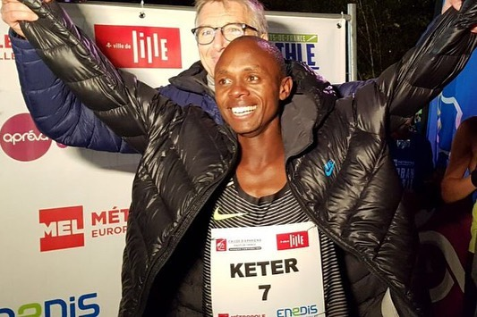 Queniano quebra recorde mundial nos 5K