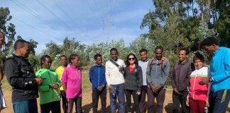 Camping na Etiópia